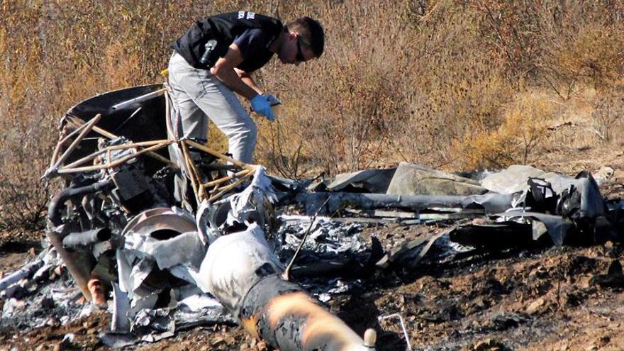 Abren una investigación por el siniestro mortal con un helicóptero en Huelva