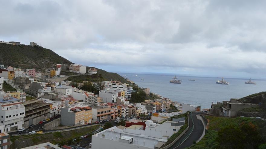 Vista general de Salto del Negro. FOTO: Iago Otero Paz.