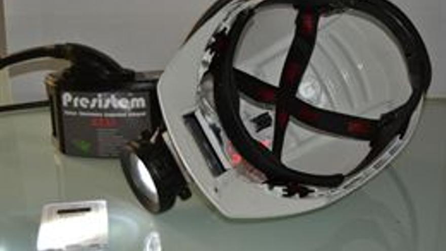 Angelhelmet, el casco minero inteligente que se fabricará en Andalucía.