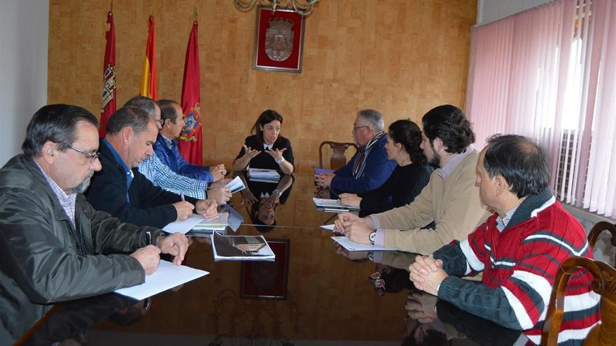 Reunión de la alcaldesa de Ciudad Real con propietarios de La Pedregosa / Europa Press
