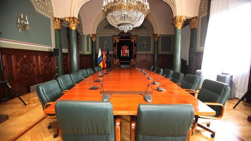 Salón del Trono para los ministros. (QUIQUE CURBELO)