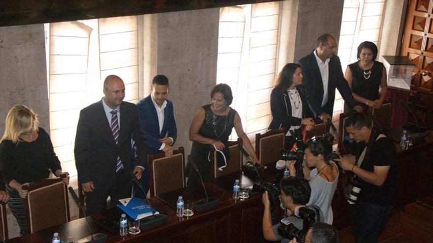 Moción de censura en Granadilla