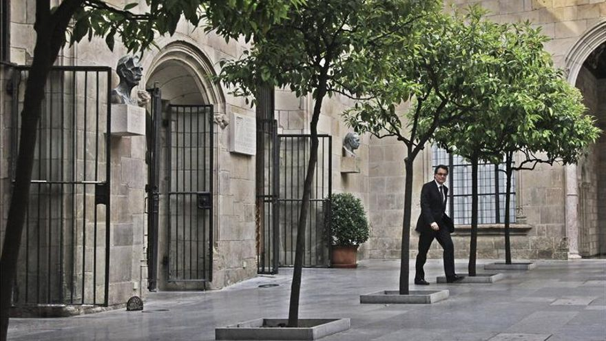 El TSJC rechaza la denuncia contra Mas, CiU y ERC por la resolución soberanista