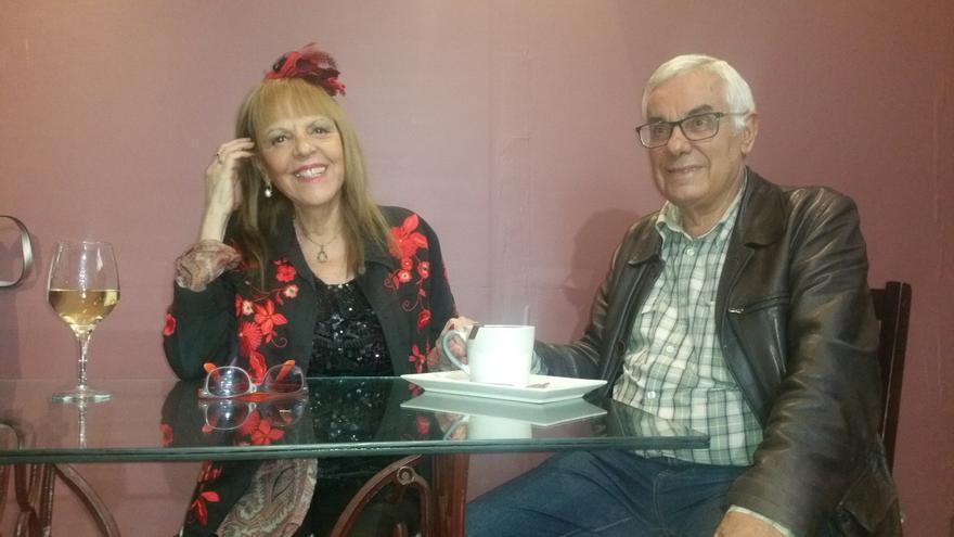 Rosario Valcárcel y Luis León Barreto invitan a disfrutar de la vida. Foto: LUZ RODRÍGUEZ.