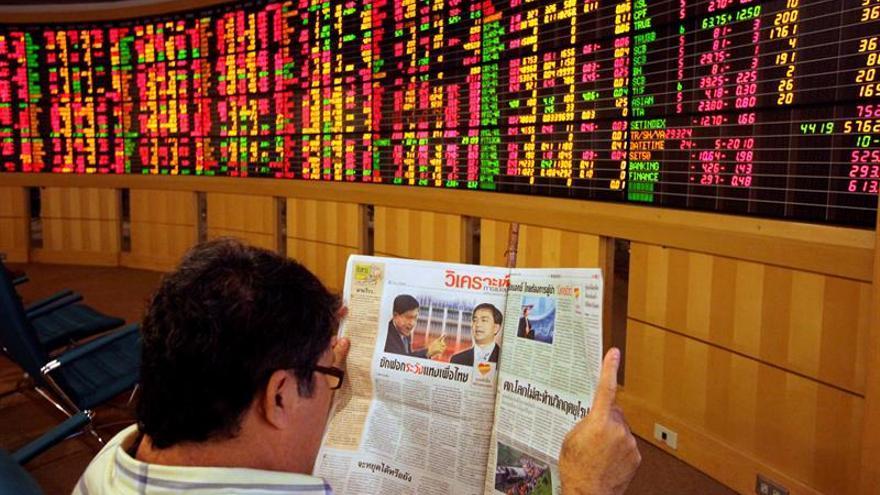 Vietnam abre a la baja y Tailandia al alza en las bolsas del Sudeste Asiático