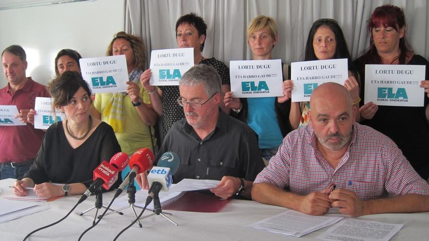 """Muñoz (ELA) dice que """"no hay que lanzar las campanas al vuelo"""" por la sentencia del TS sobre la vigencia de convenios"""