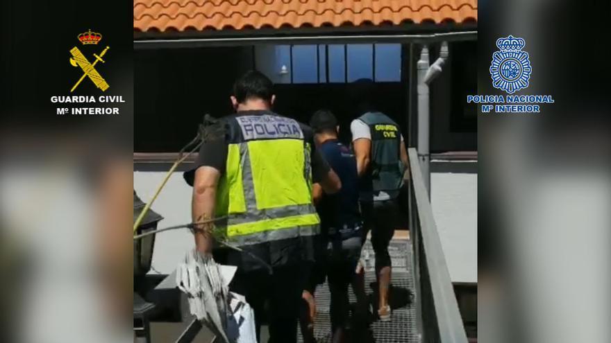 Policía Nacional y Guardia Civil desarticulan una organización criminal que operaba en Tenerife y La Palma