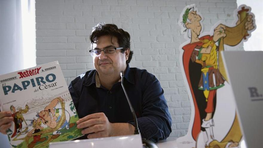 """Álvaro Pons (crítico cómics): """"Quiero contagiar mi pasión por el tebeo"""""""