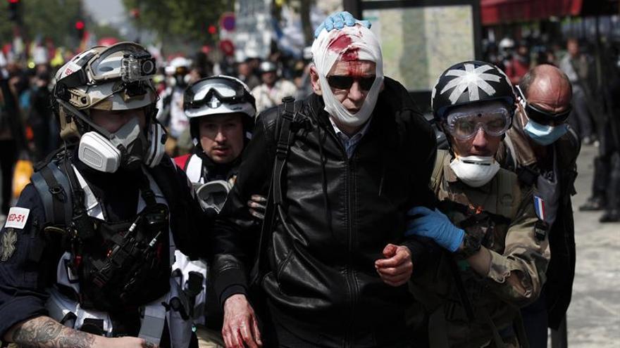 Detenidas 88 personas en París para prevenir altercados en la manifestación
