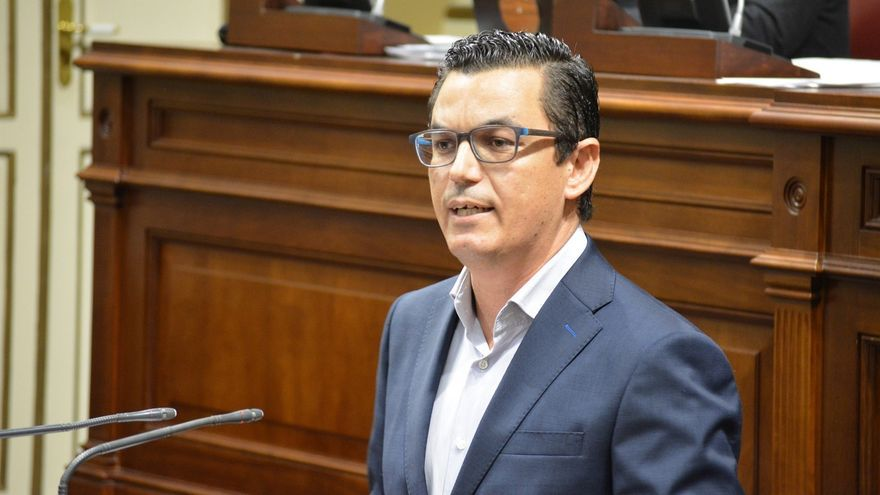 El vicepresidente de Canarias Pablo Rodríguez Valido