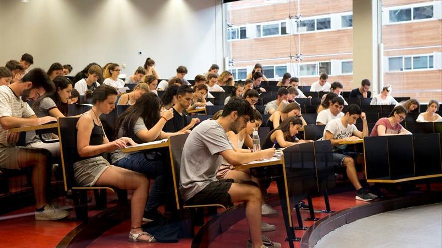 Las pruebas de acceso a la Universidad llegan esta semana a casi toda España