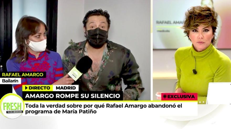 Rafael Amargo, en 'Ya es mediodía'