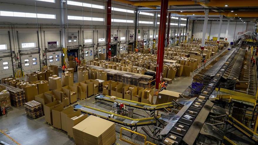 Los trabajadores de Amazon en España paran y avisan de que se retrasarán pedidos