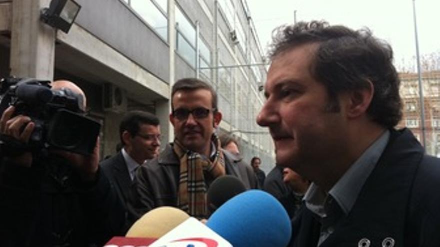 El alcalde de Barcelona y candidato del PSC a la reelección, Jordi Hereu