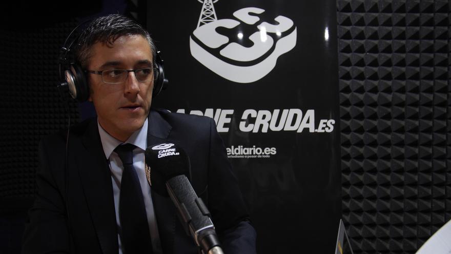 Eduardo Madina en Carne Cruda