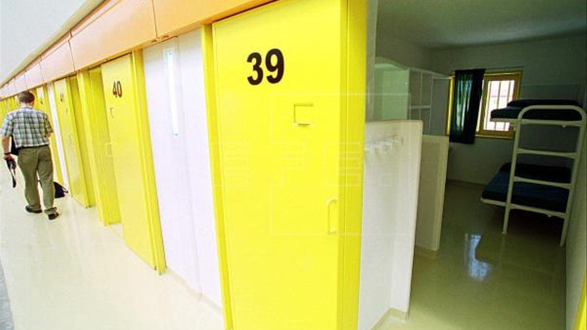 Galería del centro penitenciario Alicante II en Villena.