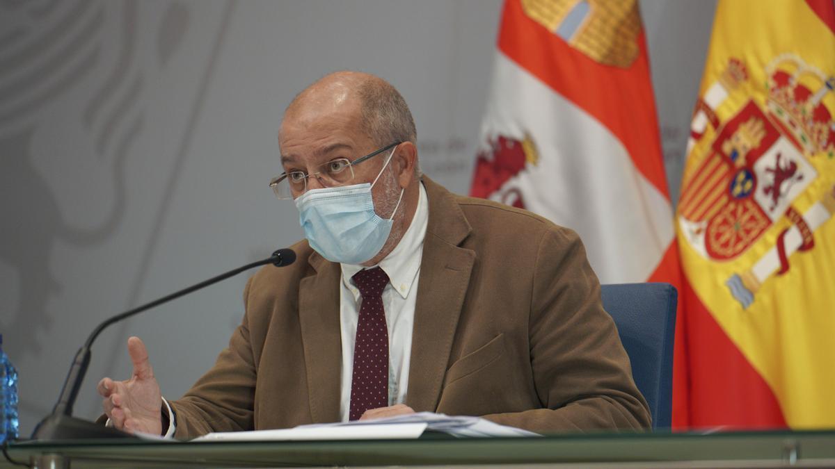 El vicepresidente de la Junta, Franciso Igea.