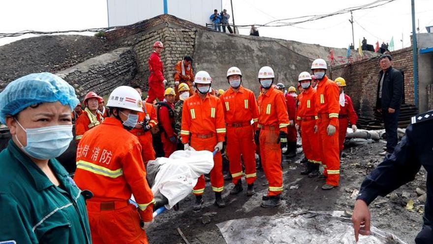 Fallecen los 33 mineros atrapados tras una explosión en una mina de carbón