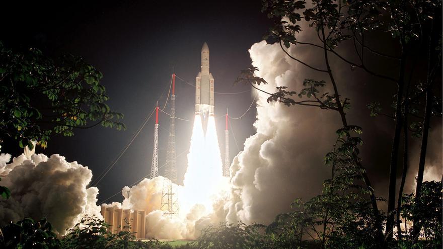 El nuevo satélite reprogramable Eutelsat Quantum es lanzado por un Ariane
