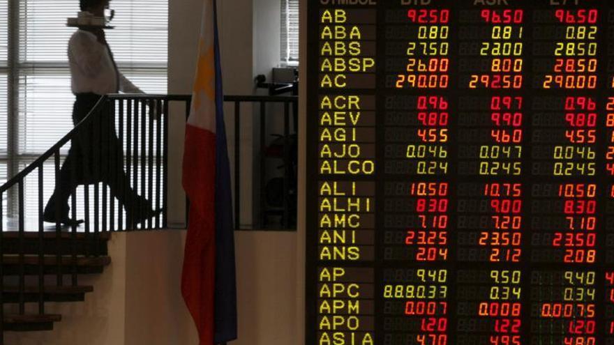 Cierres mixtos en las bolsas de valores del Sudeste Asiático