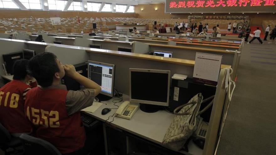 La Bolsa de Shanghái inicia la sesión sin cambios