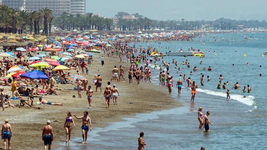 El mes de junio fue más cálido y seco de lo normal, según Aemet