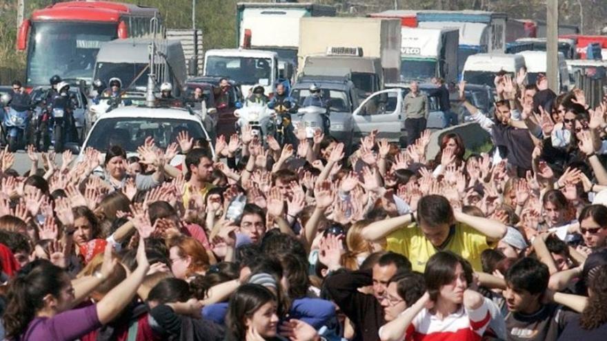 Protesta UAB