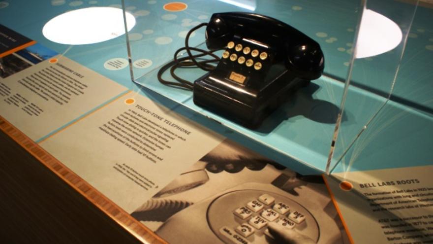 Este prototipo de teléfono sustituía por primera vez la marcación rotatoria
