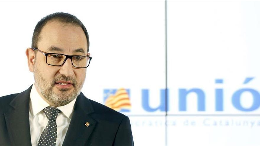"""Unió apela a otros partidos a emular el """"ejercicio de transparencia"""" de Mas"""