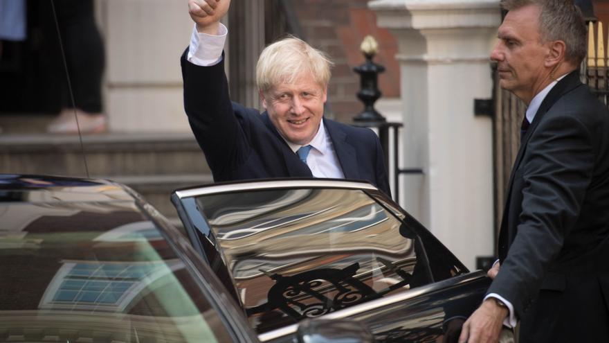 El nuevo líder del partido conservador, Boris Johnson.