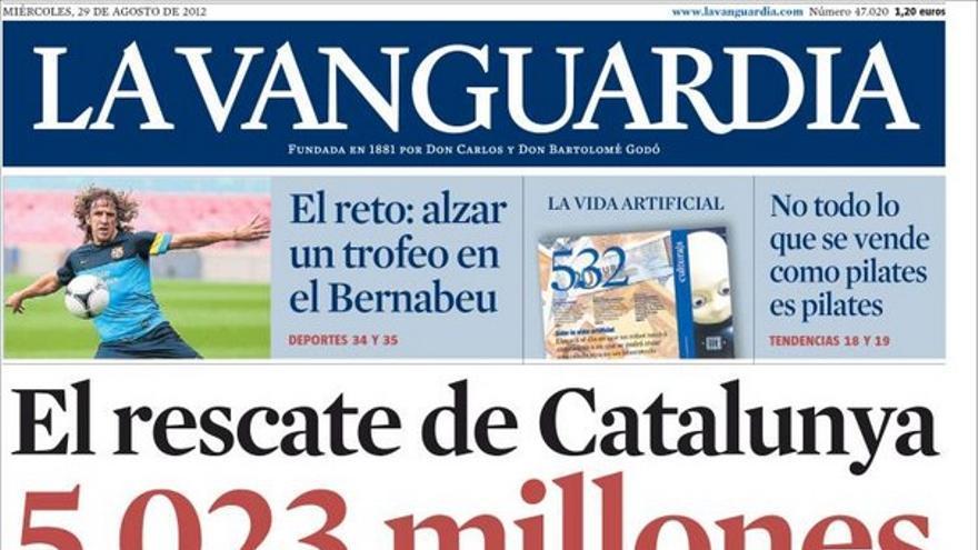 De las portadas del día (29/08/2012) #11