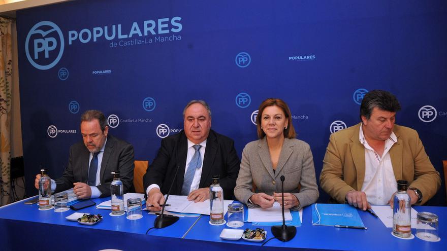Cospedal, hoy, en la Junta Directiva regional del PP