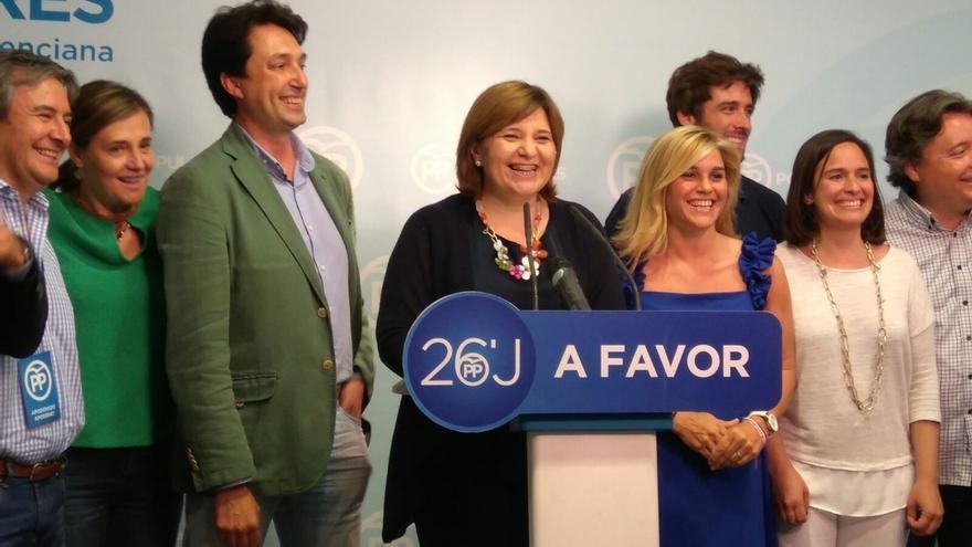 """Bonig cree que el PP """"ha recuperado el voto de cabreo"""" en la Comunitat Valenciana"""