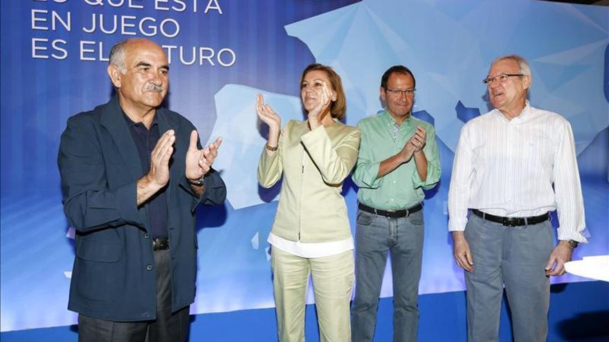 Cospedal afirma que mirar al futuro y el modelo del PSOE no lleva a ningún lado