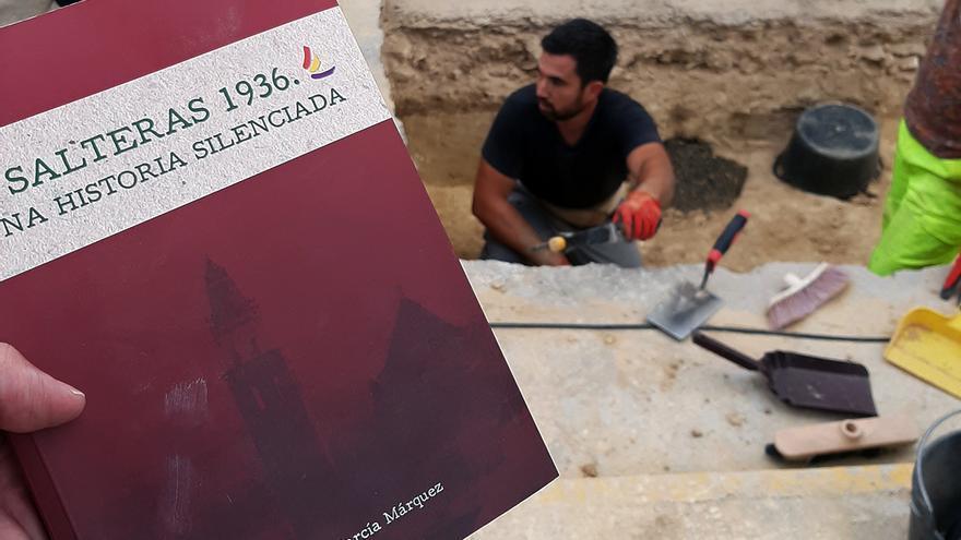 Trabajos arqueológicos en Salteras (Sevilla).   JUAN MIGUEL BAQUERO