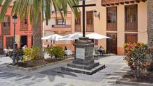 Entorno de la Cruz del Tercero de Santa Cruz de La Palma.
