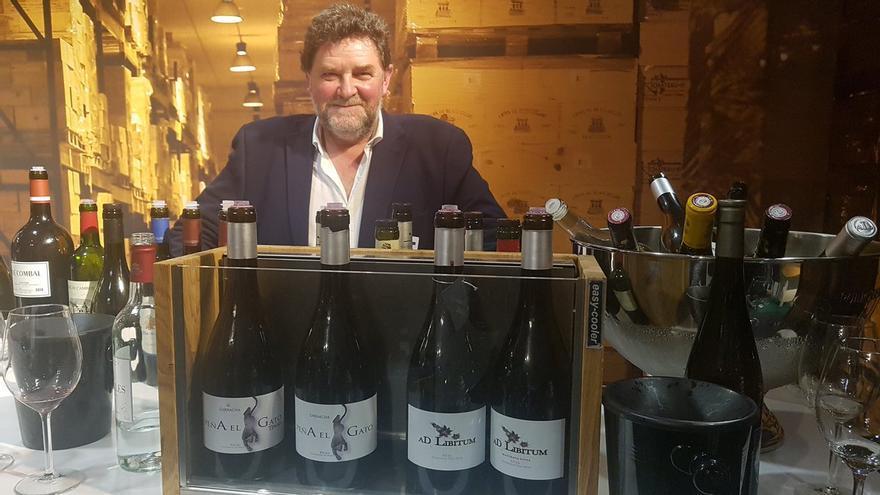 Juan Carlos Sancha, doctor en Viticultura y Enología y propietario de bodegas Ad Libitum