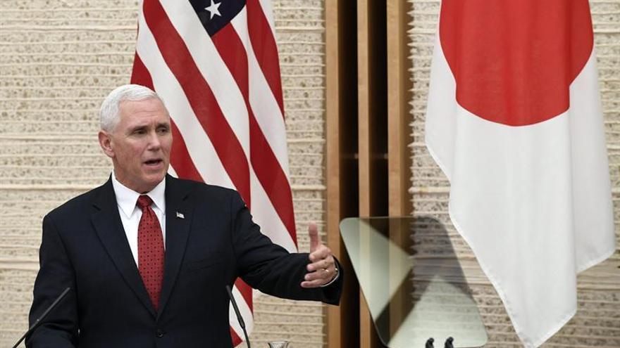 """Pence afirma que EE.UU. """"reforzará su presencia militar en Asia-Pacífico"""""""