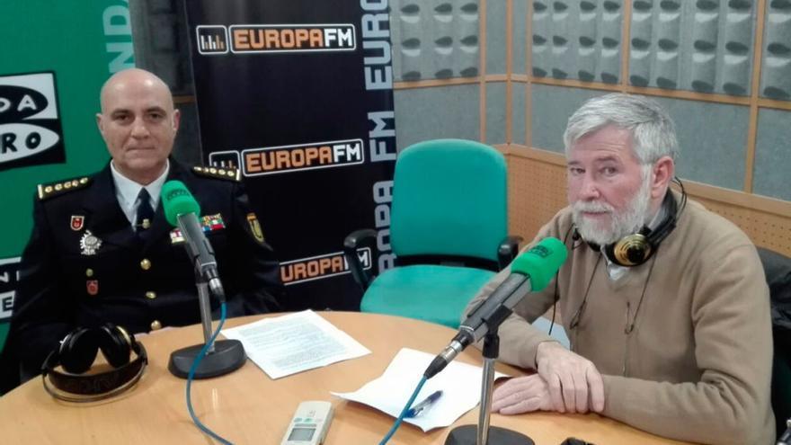 El nuevo jefe superior de la Policía Nacional, Pérez Cornejo, en una entrevista