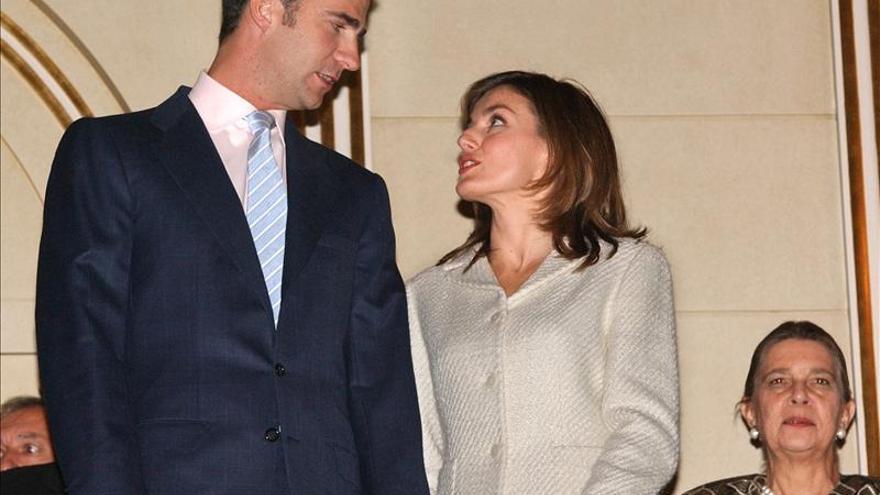Se cumplen diez años del compromiso de boda de los Príncipes