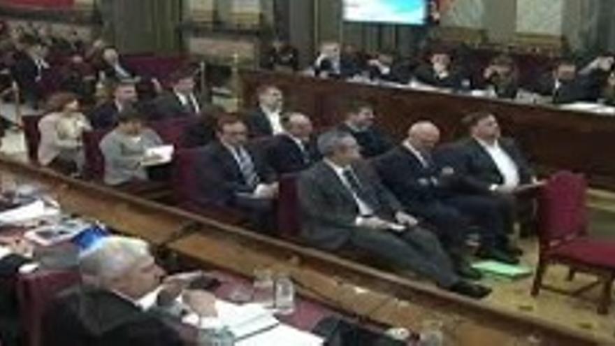 Judici als dirigents independentistes catalans.