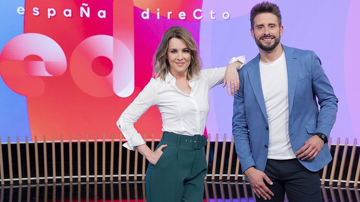 Ana Ibáñez y Àngel Pons en 'España Directo'