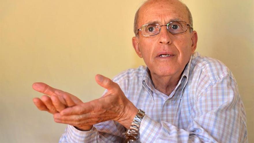 El fundador de la Agrupación Herreña Independiente (AHI), Tomás Padrón