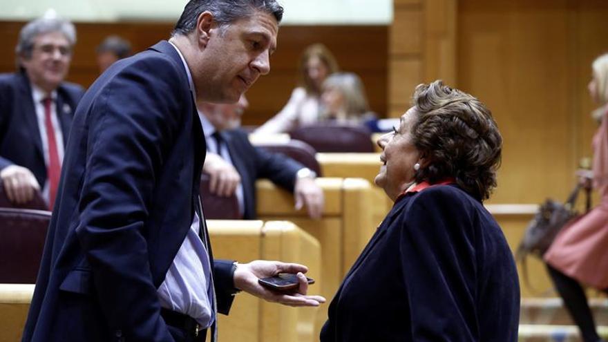 """García Albiol, convencido de que Rita Barberá """"no está haciendo daño al PP"""""""