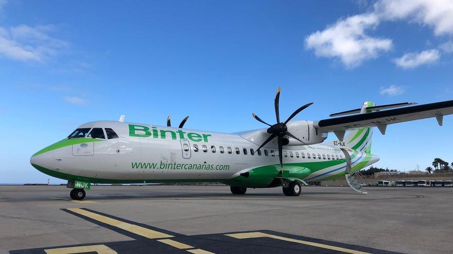 Binter suma un nuevo ATR 72-600 a su flota