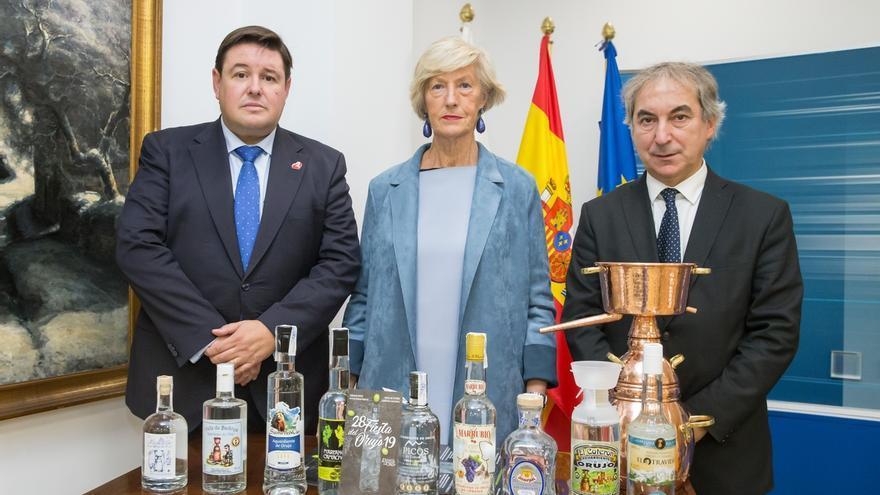 """Nueve empresas participan en la 28 Fiesta del Orujo, que """"camina"""" para ser de Interés Turístico Internacional"""