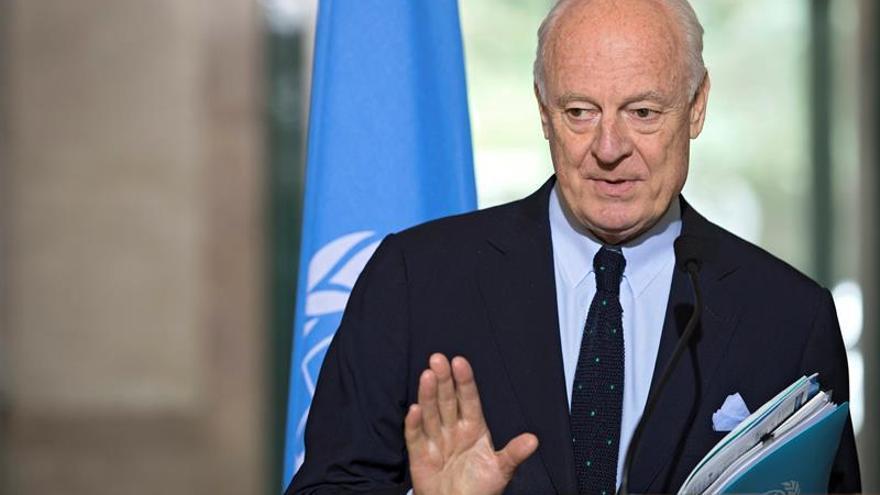 Las negociaciones de paz sirias seguirán pese a las dificultades, según la ONU