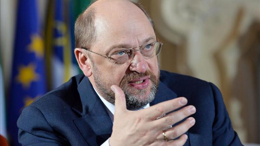 """Schulz afirma que """"Europa es un continente de inmigración y hay que regularla"""""""