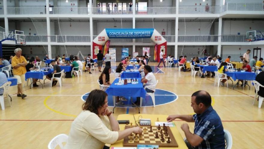 Campeonato de ajedrez La Palma.
