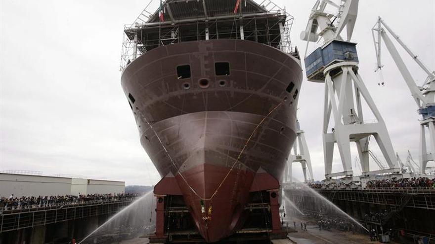 Navantia Ferrol inicia las pruebas de mar del flotel para Pemex